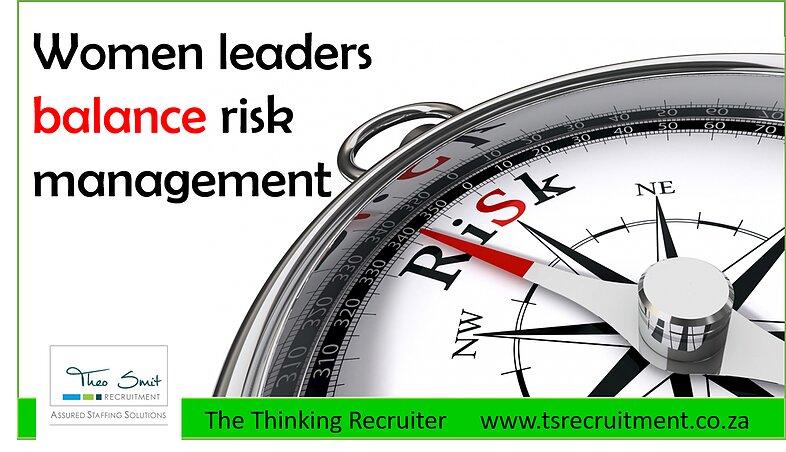 Women leaders risk management