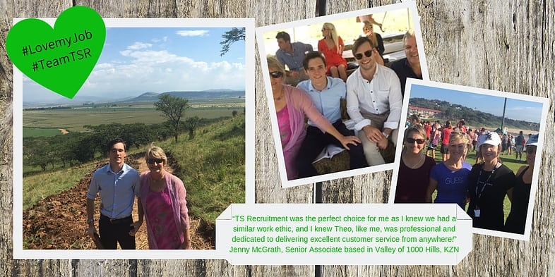 Life with #TeamTSR – Professional even from rural KZN