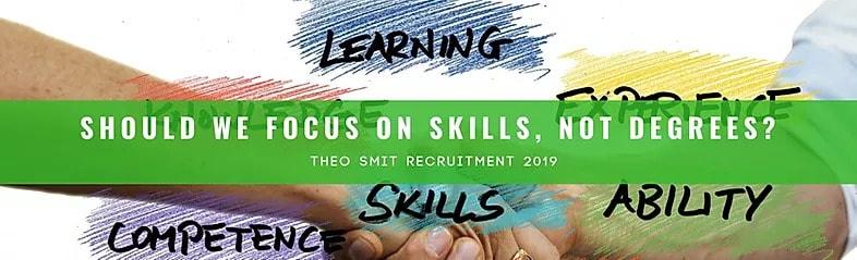 focusing more on skills